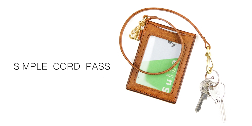 Pick Up / Ryu SIMPLE CORD PASSCASE