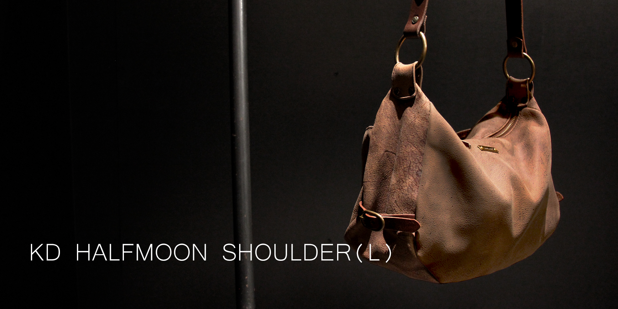 continental Kudu HALFMOON SHOULDER BAG